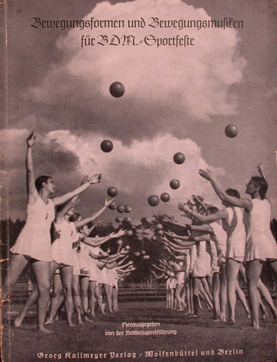 Wolfenbüttel: Georg Kallmeyer, 1941. 1.-10. Tausend (First edition). Softcover. vg. Lg. 4to. 54pp. ...