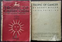 image of Tropic of Capricorn [with] Tropic of Cancer ~ BOTH SIGNED (each in a bespoke solander / clamshell box)