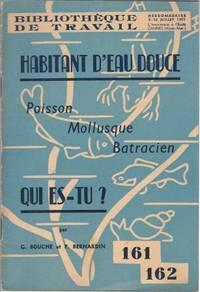 Hebdomadaire L'imprimerie à l'Ecole Cannes (Alpes-Maritimes) : Habitant d'eau...