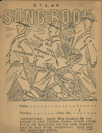 B. T. C. 4 Song Book (Basic Training Center)
