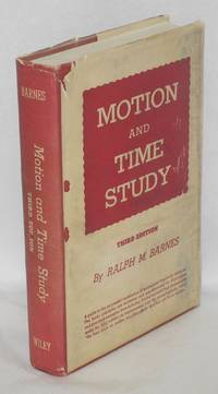 image of Motion and time study. Third edition