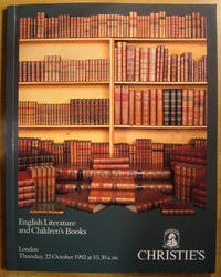 image of English Literature and Children's Books; 22 October 1992; Sale No. 4893