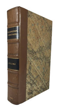 Bibliography of the Algonquian Languages; GPO