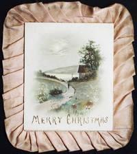 image of Merry Christmas [handmade? Victorian Christmas present]