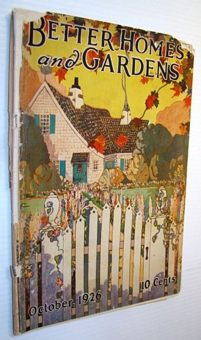Better Homes And Gardens Magazine October 1926