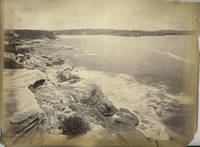 """Coogee Bay' and ""Palms Botanic Garden"" verso with ""Philae Island, Egypt"".  Albumen photographs"