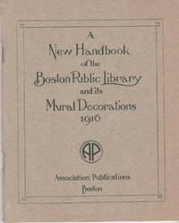image of HANDBOOK OF THE BOSTON PUBLIC LIBRARY