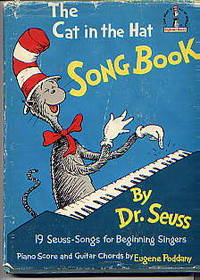 image of THE CAT IN THE HAT SONG BOOK