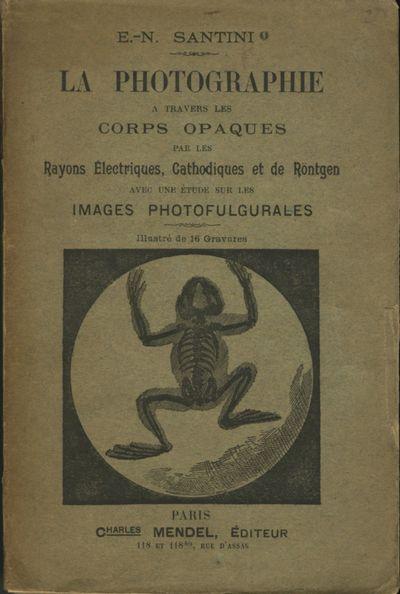 Paris: C.H. Mendel, 1896. First edition. 12mo.,, 102 pp., 2 adverts., portrait frontis of Professor ...
