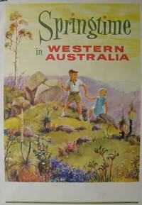 image of Springtime in Western Australia.  Travel Poster