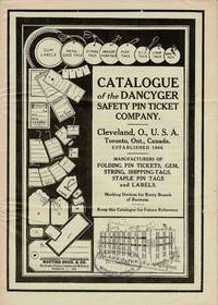 CATALOGUE OF THE DANCYGER SAFETY PIN TICKET COMPANY