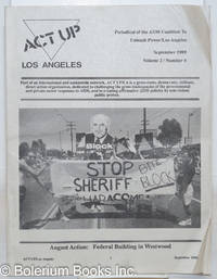 image of ACT UP / LA: periodical of the Aids Coalition to Unleash Power / Los Angeles; vol. 2, #4, September 1989: Stop Block