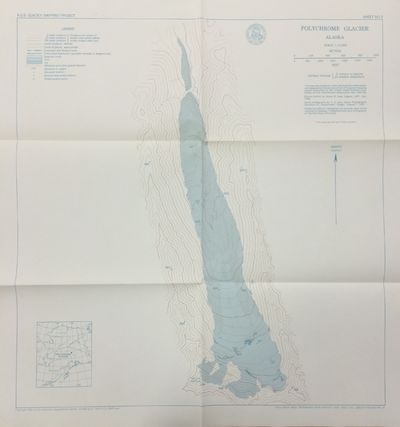 New York: American Geographical Society. Very Good. 1960. Monograph with nine folded maps, housed in...