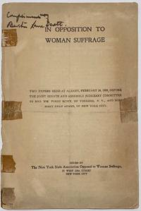 image of In opposition to woman suffrage