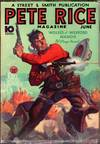 View Image 2 of 3 for Pete Rice Magazine A very scarce and desirable western pulp title. Inventory #3623