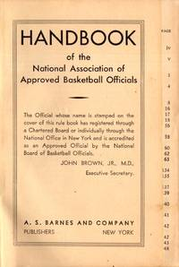 Handbook of the National Association of Approved Basketball Officials