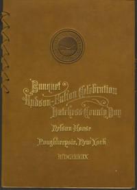 Hudson - Fulton Celebration Banquet for Dutchess County Day.  (Keepsake)