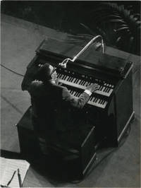 image of Original photograph of Ray Charles on stage in Paris, 1961