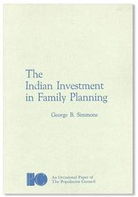 The Indian Investment in Family Planning