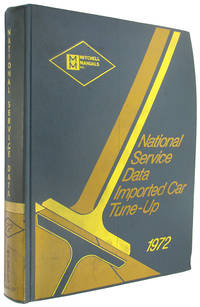 National Service Data Imported Car Tune-Up Manual, 1972 Annual (Mitchell Manuals).