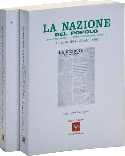 : Regione Toscana / Consiglio Regionale, . First Edition. Two volumes; octavo (24cm.); publisher's w...