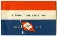 Intended Time Table for the year 1940. of the K. P. M. Line. (N. V. Kononklijke Paketvaart Maatschappij)