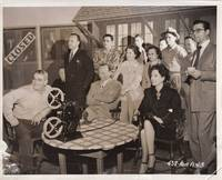 image of Mildred Pierce (Original photograph of Joan Crawford, Michael Curtiz, and Phillip Terry on the set)
