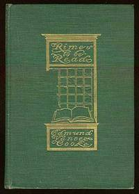New York: Dodge, 1905. Hardcover. Fine. Light wear to the spinal extremities, contemporary bookplate...