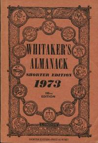 image of Whitaker's Almanack Shorter Edition 1973