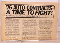 '76 auto contracts - a time to fight!