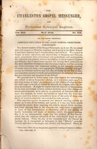 The Charleston Gospel Messenger, and Protestant Episcopal Register May, 1842