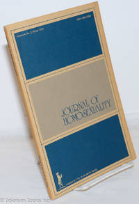 image of Journal of Homosexuality: vol. 4, #2, Winter 1978