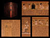 The book of the dead: facsimiles of the papyri of Hunefer, Anhai, Ḳerāsher and Netchemet with supplementary text from the papyrus of Nu; with transcripts, translations...