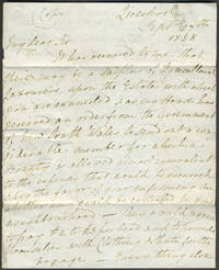 A copy letter from Newelyn Loyd of Denbigh to the Guardians of the Holywell Union (poorhouse), Holywell, soliciting immigration to New South Wales