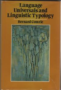 image of Language Universals and Linguistic Typology: Syntax and Morphology