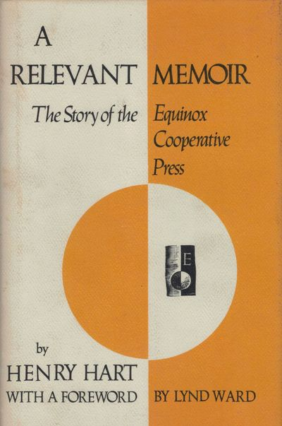 New York: Three Mountains Press, 1977. First edition. Hardcover. Orig. yellow and black cloth. Fine ...