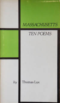 image of Massachusetts Ten Poems (Inscribed)