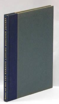 THE BARRETT LIBRARY -- ROBINSON JEFFERS