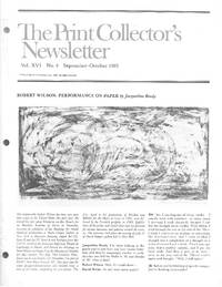 "image of ""Print Collector's Newsletter: Vol. XVI, No.4, September-October 1985"""