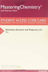 Chemistry: Structure and Properties, Books a la Carte Plus MasteringChemistry with Pearson eText...