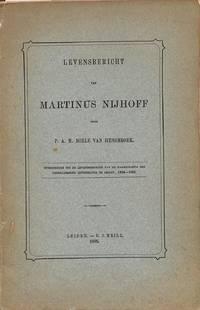 Levensbericht van Martinus Nijhoff.