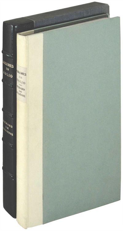 London: C. Elkin Mathews, 1889. Hardcover. Very Good +. Hardcover. Number 7 of 50 copies of this lar...