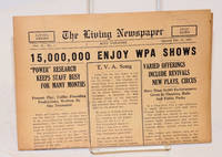 The living newspaper: vol. II, no. 1, The Ritz Theatre, February 23, 1937; 15,000,000 Enjoy WPA Shows