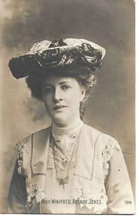 image of Winifred Arthur Jones- Edwardian Era Actress - 1900s PostcardPostcard