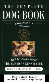 image of The Complete Dog Book, 19th Edition