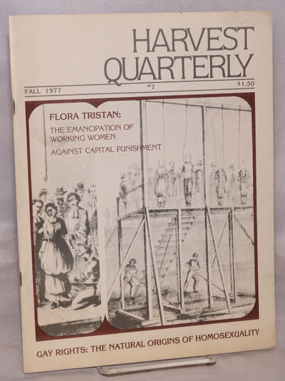 Santa Barbara, CA: Harvest Publications, 1977. Single issue of the journal, 35p., wraps, 8.5 x 11 in...