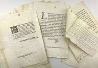 [Collection of 18th-Century Printed Letters and Directives from the Viceroy of New Spain to the Alcalde Mayor in the Province of Tecali]