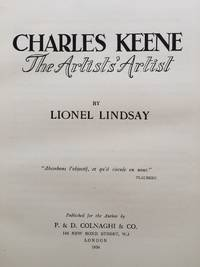 image of Charles Keene. The Artists' Artist