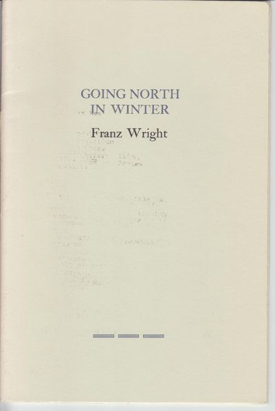 n.p.: Gray House Press. 1986. First Edition; First Printing. Softcover. Sewn in wraps, near fine wit...