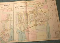 BRIELLE/MANASQUAN NJ MAP FROM WOLVERTON'S